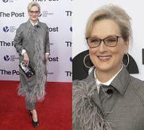 Elegancka Meryl Streep promuje nowy film