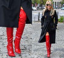 Gwiazdy pokochały czerwone buty. Stylowe czy kiczowate?