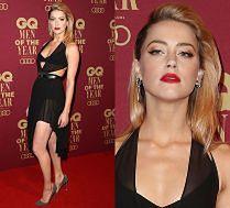 Amber Heard kusi na ściance w Australii