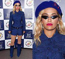 Poważna Rita Ora chwali się nowym przebraniem