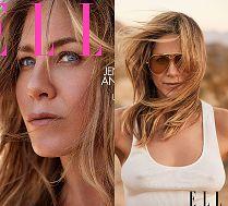 Sterczące sutki Jennifer Aniston w sesji dla
