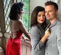 Katarzyna Cichopek pozuje w zmysłowej sukience na Instagramie. Marcin Hakiel komentuje: