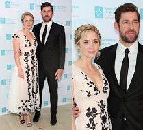 Uroczy Emily Blunt i John Krasinski na AIS Gala