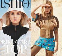 Siostra Kate Moss hasa po pustyni w sesji dla hiszpańskiego magazynu