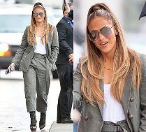 Młodzieżowa Jennifer Lopez z fryzurą