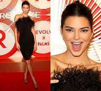Kendall Jenner kusi opierzonym dekoltem na rozdaniu nagród
