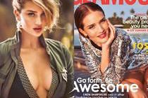"Rosie Huntington-Whiteley pozuje dla ""Glamour"""