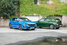 Peugeot 308 - najbogatsza i najuboższa (zielony egzemplarz) wersja