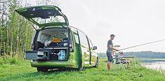 Idealny samochód na ryby? Oto on - Volkswagen Caddy California