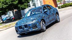 Maserati Grecale w kamuflażu
