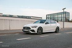 Mercedes Klasy C może się podobać - uwagę zwracają m.in aerodynamiczne felgi