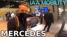 Na stoiku Mercedesa podczas IAA 2021 przeważają elektryczne nowości