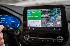 Android Auto na ekranie Forda Pumy ST