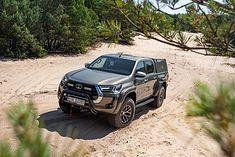 Toyota Hilux z pakietem Arctic Trucks