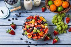 Surowe owoce