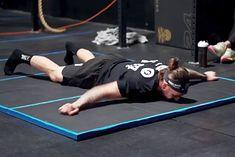 Nick Anapolsky bije rekord świata w burpees