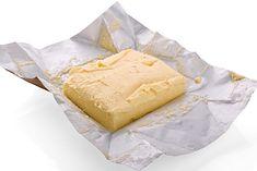 Na zdjęciu: kostka masła