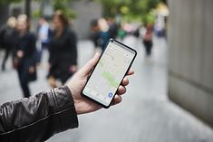 Trasę pieszą można wytyczyć za pomocą Google Maps