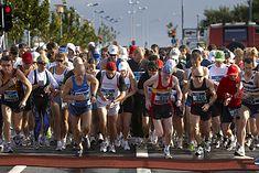 Start biegu maratońskiego