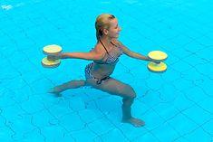 Aqua aerobic daje efekty już po miesiącu ćwiczeń