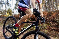 Podczas jazdy na rowerze pracują nie tylko mięśnie nóg