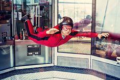 Lot w tunelu aerodynamicznym trwa zwykle 3 minuty