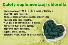 Zalety suplementacji chlorellą
