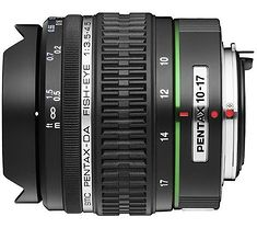Pentax smc DA 10-17mm F3.5-4.5 ED (IF) Fisheye