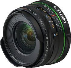 Pentax smc DA 15mm F4 ED AL Limited