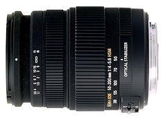 Sigma 50-200mm f/4-5.6 DC OS HSM - tani telezoom ze stabilizacją