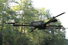 Składany dron blu