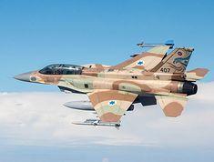 F-16I Sufa izraelskiego lotnictwa (model późniejszy od użytych w nalocie na reaktor)