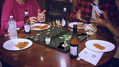 Gameboard-1: tablet jako interaktywny element gier planszowych.