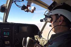 Pilot z goglami Fused Reality