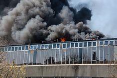 Pożar paneli fotowoltaicznych w Brighton
