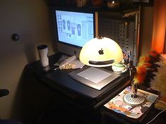 iMac G4 jako lampka