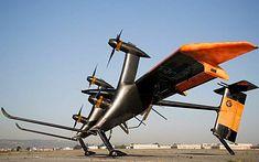 Wing 7 - skonstruowana przez Makani Power, autonomiczna, latająca elektrownia