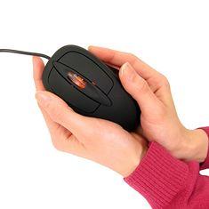 Mysz z ogrzewaniem
