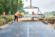 Droga solarna wyłożona panelami fotowoltaicznymi, Holandia