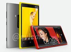 Nokia Lumia 920 z PureView, fot. evleaks