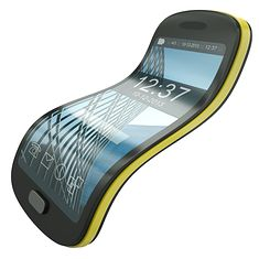 Koncept elastycznego smartfona