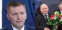 Łukasz Schrebier składa życzenia Jarosławowi Kaczyńskiemu Szóstego z rzędu zwycięstwa