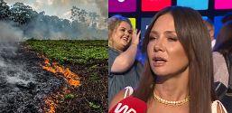 Kinga Rusin o płonącej Amazonii Czy za rok będziemy mieli czym oddychać