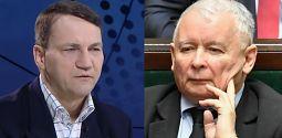 Sikorski Kaczyński próbuje nastraszyć homoseksualistami społeczeństwo