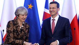 Morawiecki w Wielkiej Brytanii: Theresa May może liczyć na Polskę w sprawie brexitu
