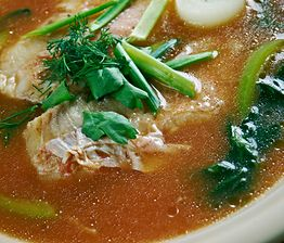 Zupa rybna. Smaczna i zdrowa