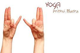 Prithvi-Mudra (Mudra ziemi)