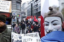 6 tysięcy osób protestuje przeciwko CETA w Warszawie (ZDJĘCIA)