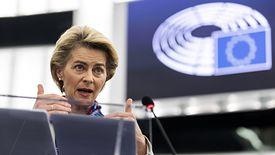 Ursula von der Leyen, przewodnicząca Komisji Europejskiej.