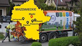 Najdroższe gminy w Polsce pod kątem wywozu śmieci. Mieszkańcy są wściekli